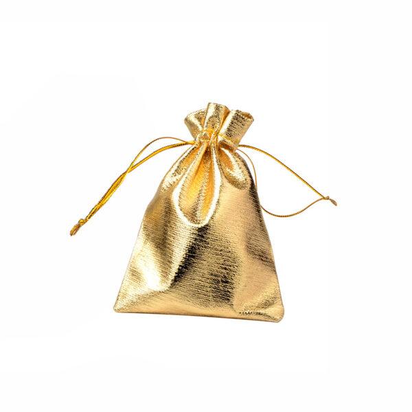 złoty woreczek na prezenty